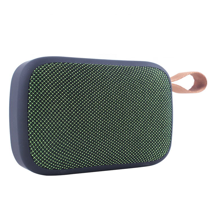 YIXINAGLIN mini bluetooth speaker with FMPromotional Gift Fabric texture Portable Wireless Speaker Mini Bluetooths Speaker