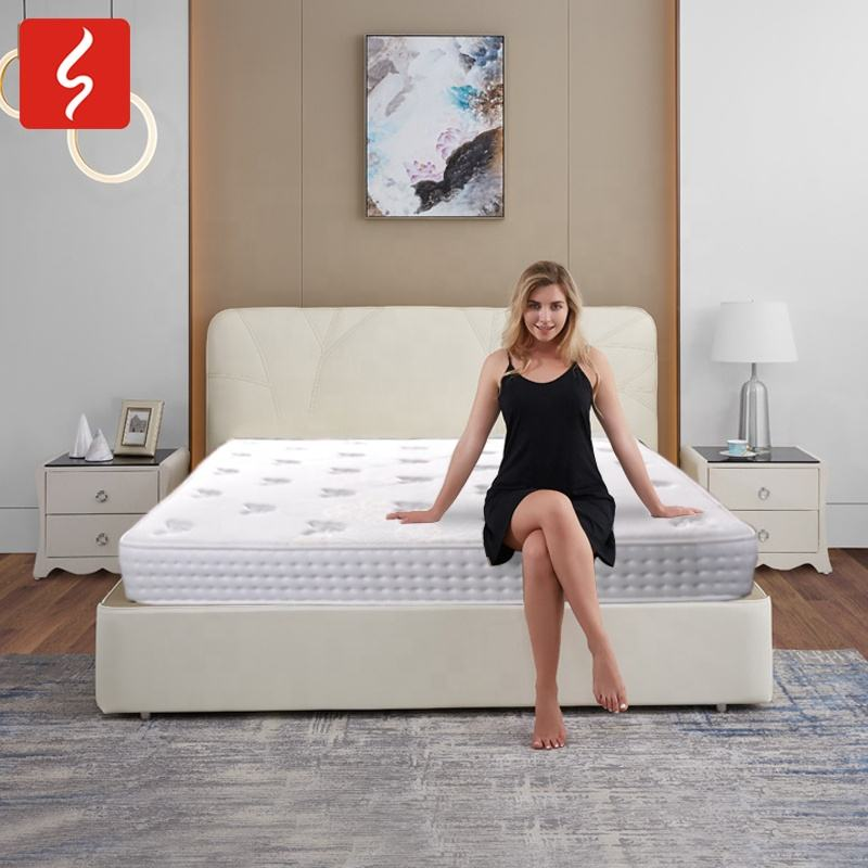 New product amazon USA CA cooling gel foam mattress with free protector