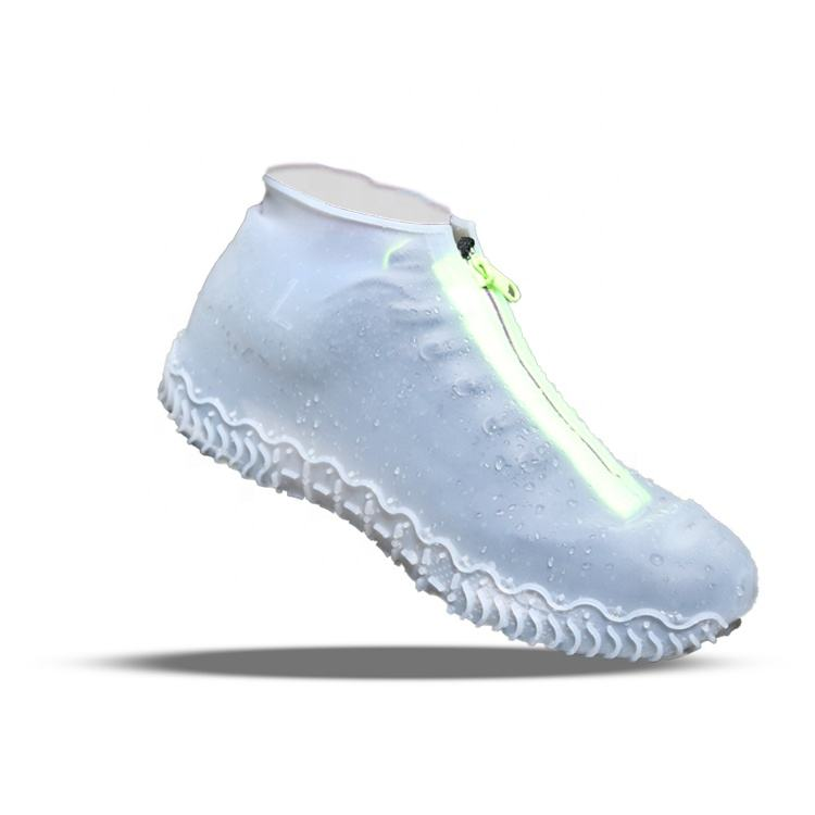 Silicone Rain Shoes Cover Waterproof Overshoe Shoe Cover Rain Boots
