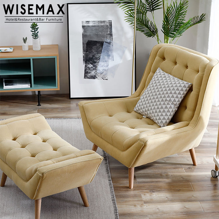 Italian Design single sofa chairs for lounge living room portable lazy boy furniture Accent Chair Living Room Armchair Seat