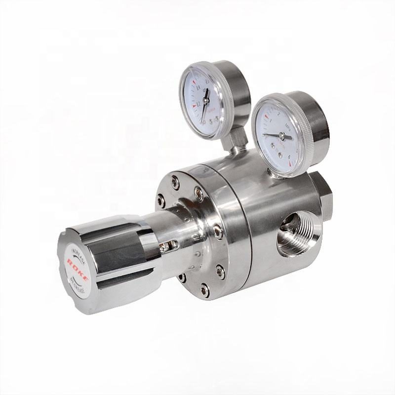 Stainless Steel Oxygen Pipeline Pressure Regulator 35 bar to 4 bar