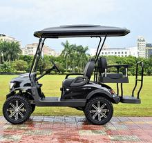 hunting oem cheap 4 person electrical big wheel golf carts 4x4 for sale AX-C2+2-4x4, electric cars with CE approval