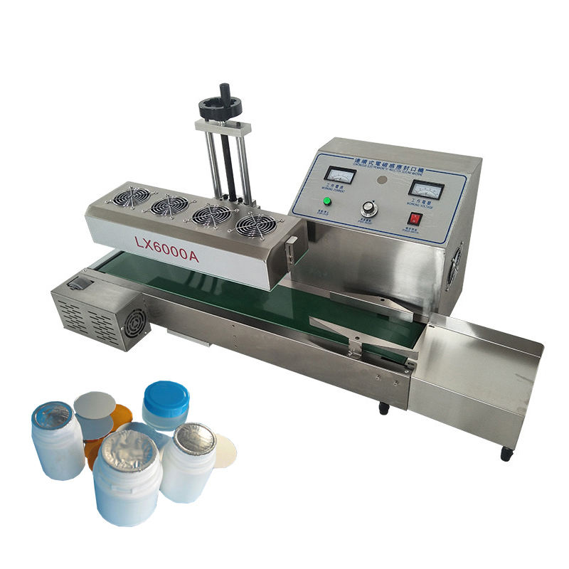 LX6000 Desktop Continuous Electromagnetic Induction Sealer Aluminum Foil Sealing Machine Bottle Sealing Machine Factory Sale