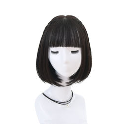 Hir factory korea style fashion short bob wig clavicle hair
