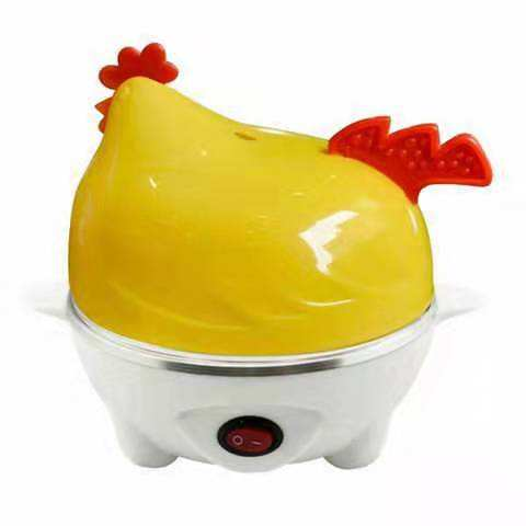 Egg Cooker Heating,Water Shortage Automatically Closed - 7 Egg Capacity And Water Measuring Cup