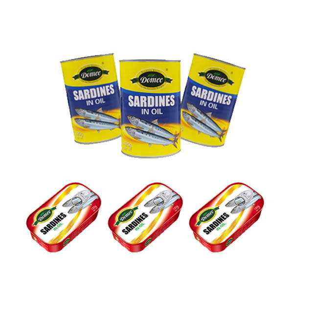 Canned Sardin in Oil Canned Sardines Manufacturers Tinned Fish