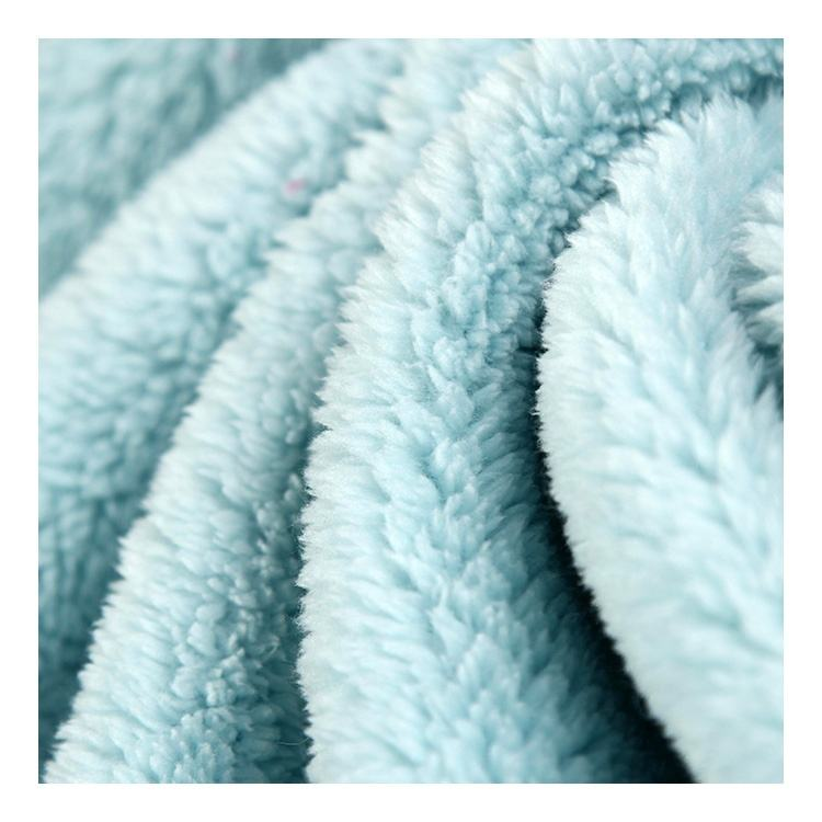 High Quality 100% Polyester Printed Shu Velveteen Sherpa Fleece Fabric