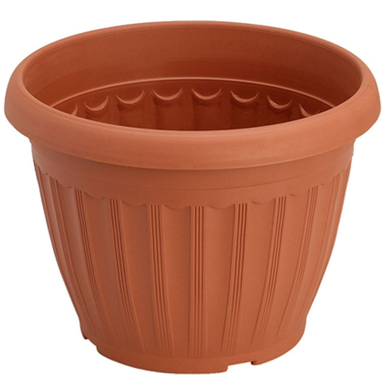 Plastic Plant Pots Wholesale Brown Plastic Flower Pot 15 Gallon Flower Pot