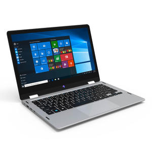 Totolook ITZR 2018 baru 11.6 Inch 1366*768 OS Tablet PC 64 GB Hybrid Windows10 yoga 2-In-1 Convertible Ultrabook Laptop Tablet PC