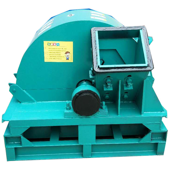 stick crushing sawdust wood log press wood crusher machine