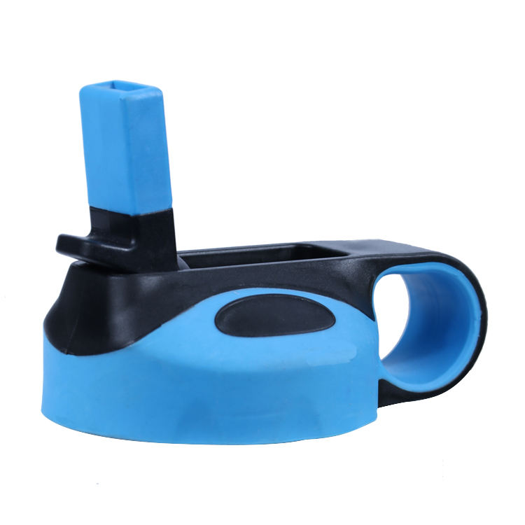 Wide Mouth Water Bottle Cap Sports bottle Lid With Flex Handle Drinking Water Bottle Caps Suit All Sizes