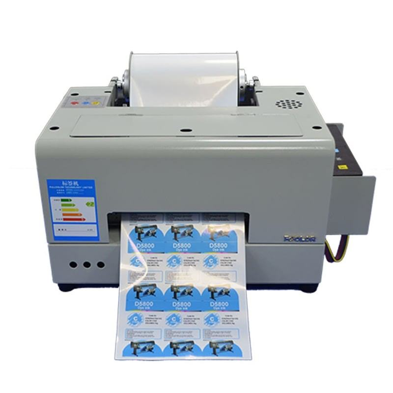 250mm USB Roll Water Fles Digitale Kleur Label Eco Solvent <span class=keywords><strong>Printer</strong></span> Automatische Voeden inkjet <span class=keywords><strong>Printer</strong></span>