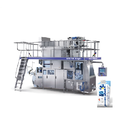Stainless Steel 1000LPH low-fat milk machinery organic UHT milk dairy production processing line