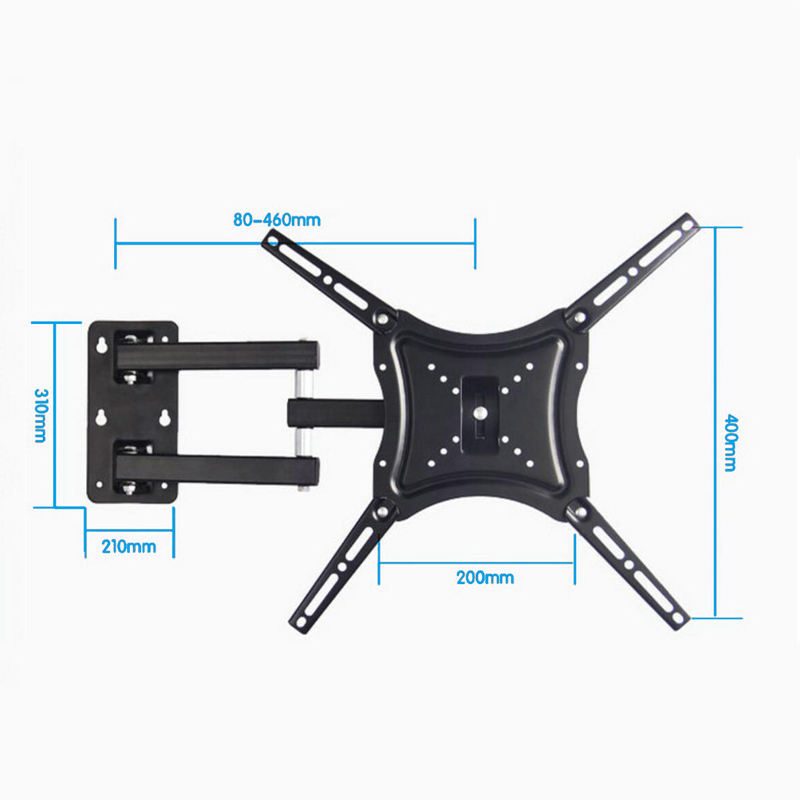 "LCD TV Wall Mount Bracket, 19"" 22"" 26"" 32"" 37"" 42"" 48"" Full Motion Wall mount TV Bracket/"