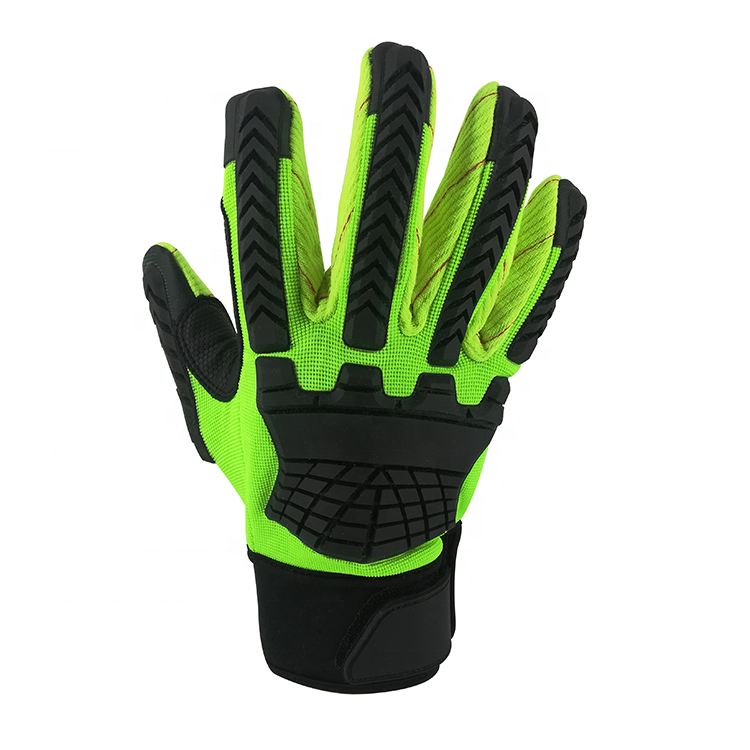 Anti-liquid cutting oil and gas field gloves, anti-cutting and anti-chemical working gloves