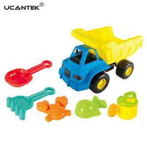 UCANTEK Summer Children Play Outdoor Toys Set Plastic Sand Beach Toys Track For kids