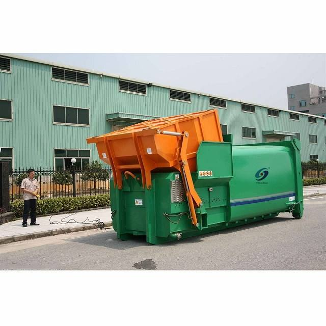 20m3 Garbage Compactor Truck Mobile Compression Garbage Station