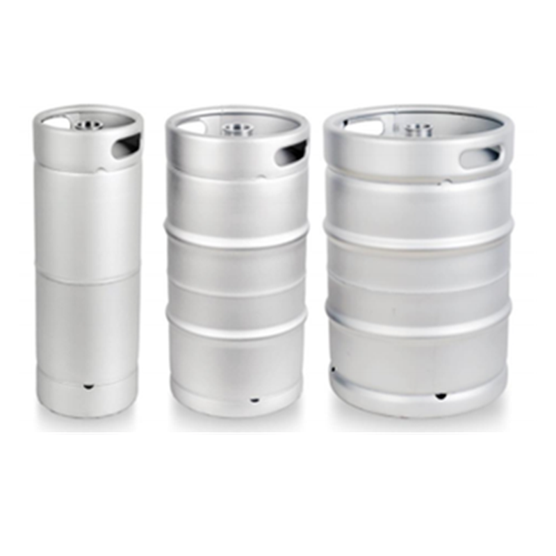 New design large capacity dispenser equipment food grade silm US 20L 30l 60L Baby Kegs 304 stainless steel beer cask
