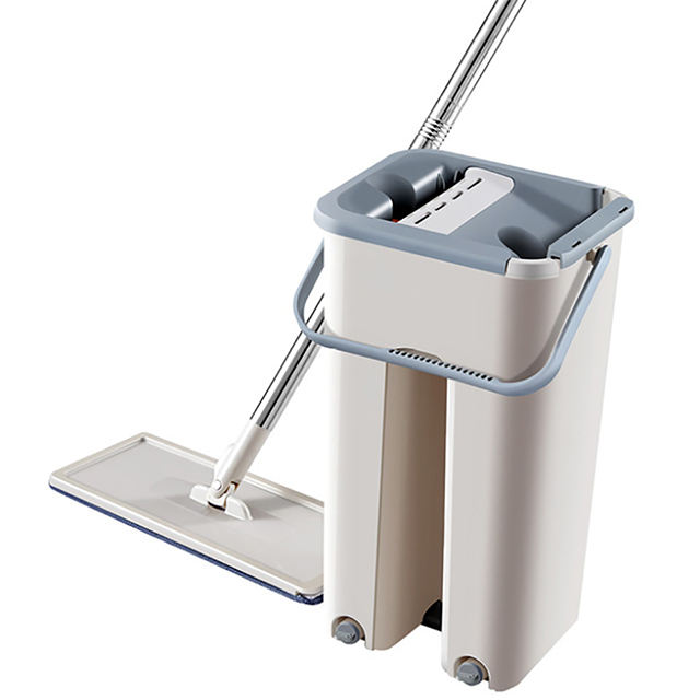 Professional self cleaning mop tablet mop with mop bucket