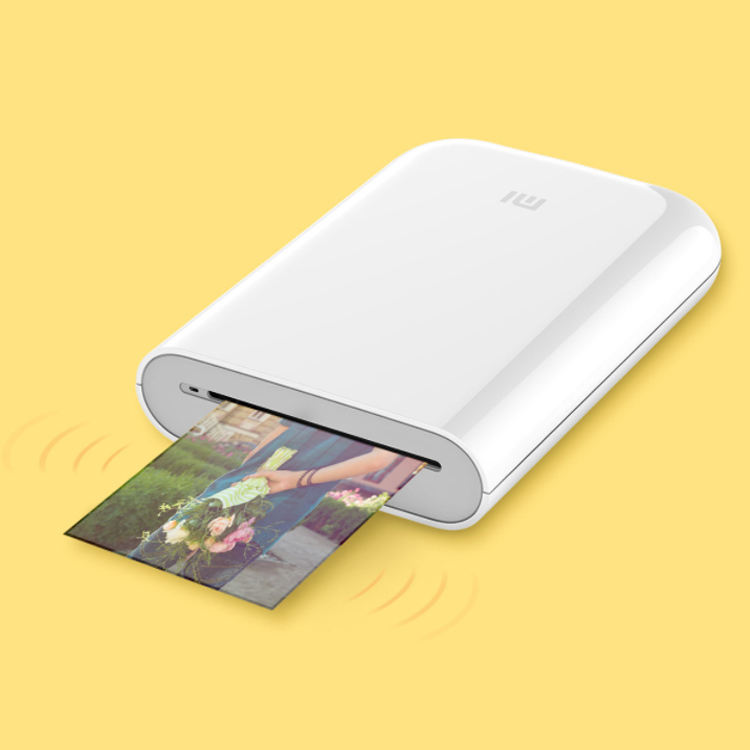 Special Christmas Gift Xiaomi Mijia AR Photo Printer Portable Mini Pocket Photo Printer 500mAh Picture Printer