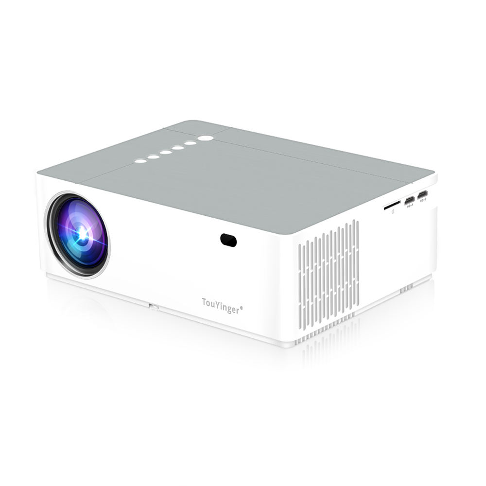 Fornitore ufficiale TouYinger M19 Proiettore Full HD 1080P 5800lumen Supporto AC3 LED video Home Theater Full HD Film beamer