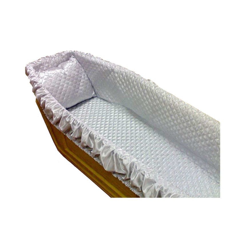 High quality hot sale casket coffin lining interior
