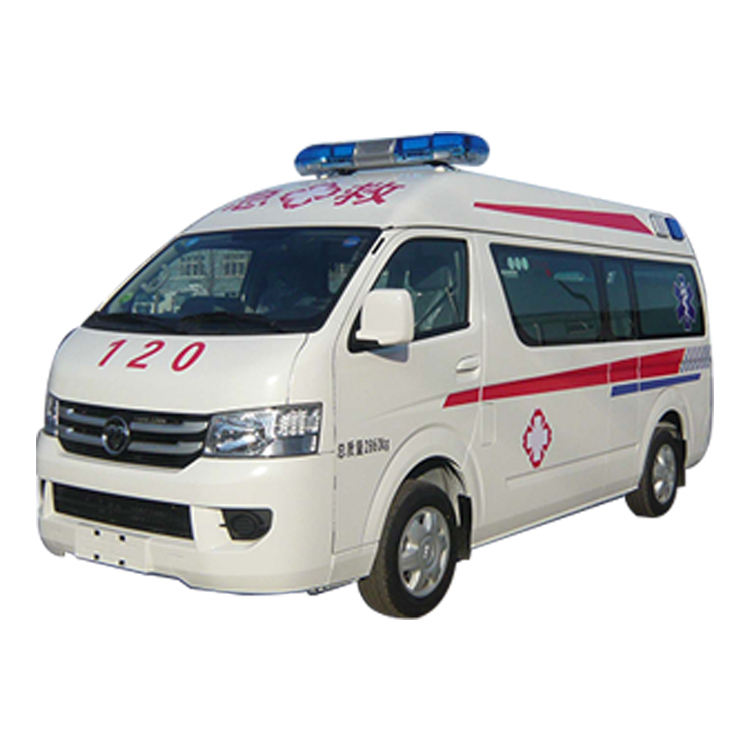 Petrol Engine New Foton White Ambulance medical emergency transit 2020 hot model cheap car for sale
