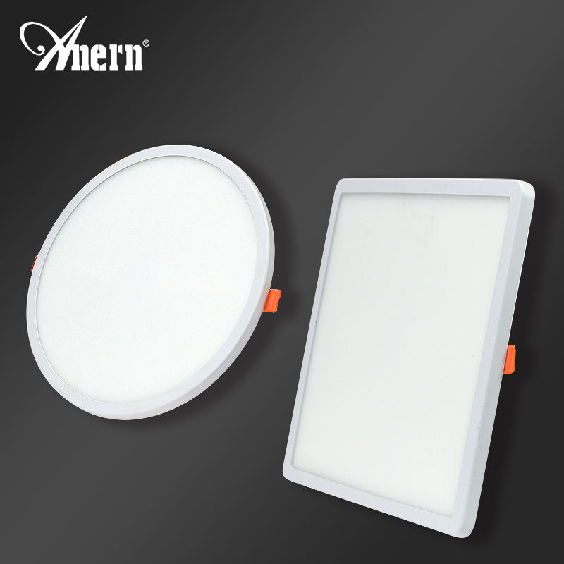 Anern 실내 <span class=keywords><strong>조명</strong></span> Recessed LED 울트라 슬림 Led 통