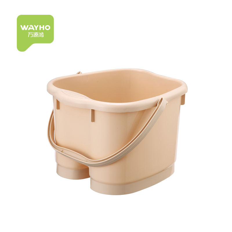 Plastic modern massage foot bath bucket for soakinf