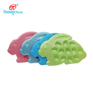 Cloud Shaped Designs Cute Plastic Plate Dish for Kids