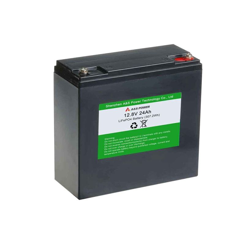 CE UN38.3 certificated driving recorder battery 32700 4s4p lifepo4 12v 24ah battery pack