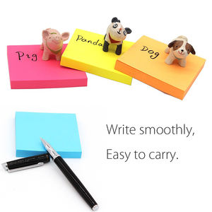 Wholesale Writing Paper Tear-off A4 A5 A6 Custom Sticky Note Printed Lined Self Adhesive Notepad
