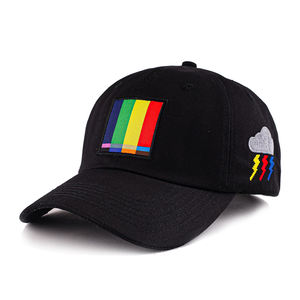 Wholesale unstructured dad hat embroidered baseball caps