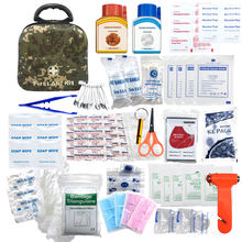 Military Camouflage Color Emergency Survival Kit EVA First-aid Kit with Supplies First-aid Devices Class I 1 YEAR Manual