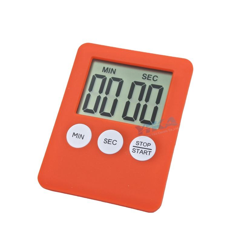 Small Mini Digital Timer Magnetic Countdown Up Minute Second Timer with led