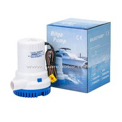 2500GPH 12V rule marine pump for bilge drainage yacht