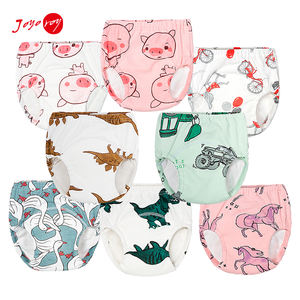 Cotton Washable Diaper Baby Cloth Diapers Baby Training Pants Potty Training Underwear