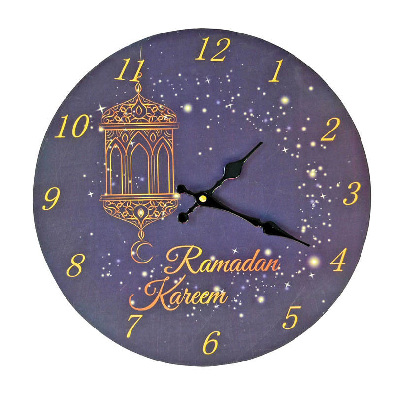 Muslim Prayer Reminder Ramadan Gift azan wall clock