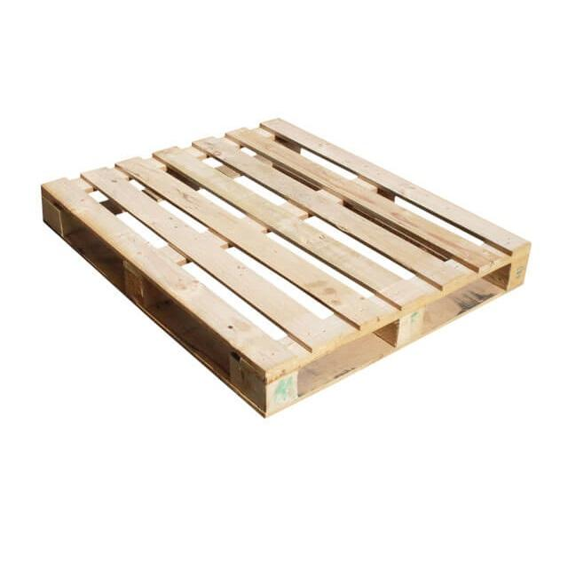 Heat Treated Wooden Pallets - 4-way / 2-way Pallet for Logistics Packaging Export to EU, USA, UAE, etc - Solid Wood Pallets