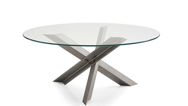 Coffee Table Tempered Glass 6mm 8mm Clear Toughened Coffee Table Tempered Glass Round Top For Coffee Table