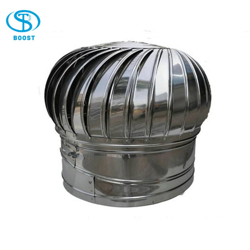 Industrial wind turbo roof top ventilation fans/NO power roof ventilation fan
