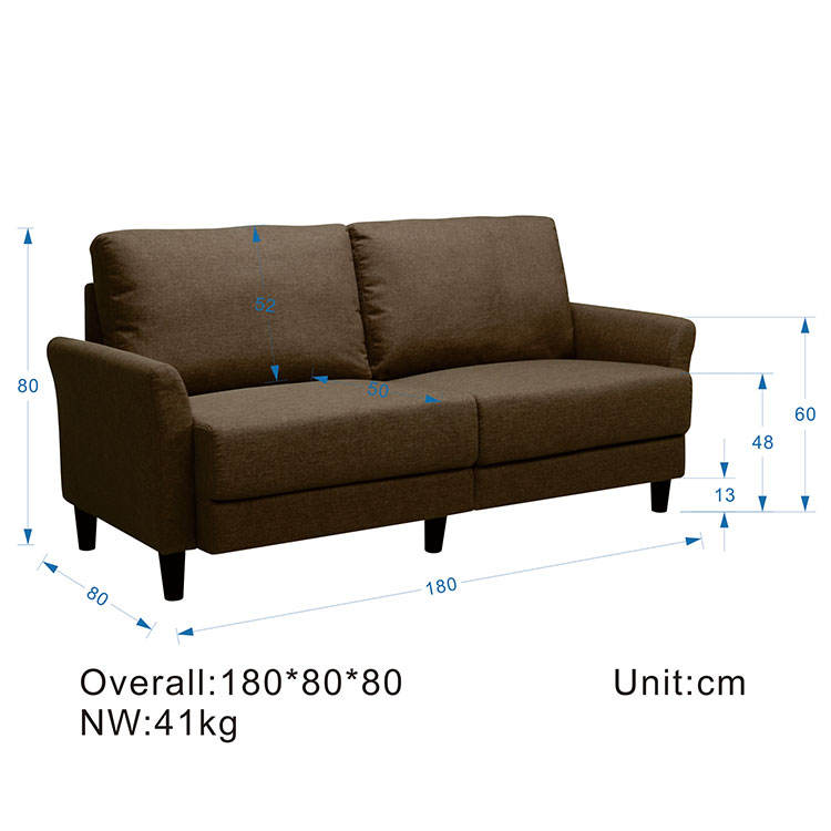 Waverunner Modular Sectional Kd alu Sofa set Length +2*width+2*height less than 330
