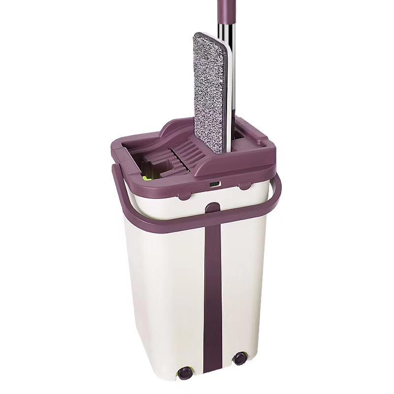 Home easy cleaning floor cleaner microfibre 360 spin magic mop and bucket, HYM-05