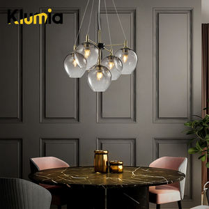 KLUMIA Modern lobby cheap price incandescent luminaire hanging ceiling pendant light led