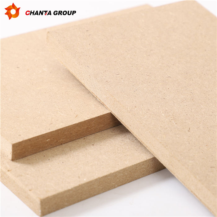 Can be custom high grade WBP melamine 8mm 9mm 18mm raw plain mdf board for furniture decoration from linyi