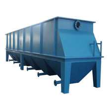Package coagulation flocculation sedimentation tank for river wastewater treatment lamella clarifier