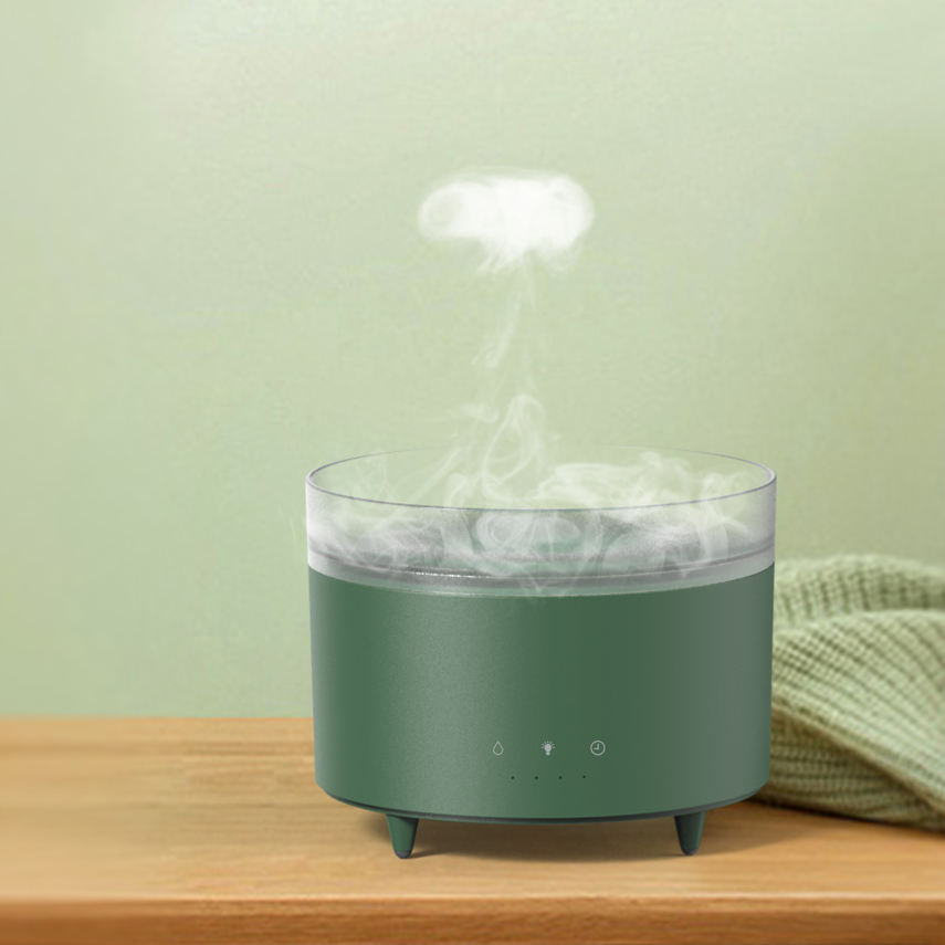 2021 New Design AC Cool Mist Desktop Humidifier Air Home Humidifier Diffuser for Bedroom with LED light
