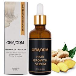 Private Label Treatment for Thin Hair Fast Hair Regrowth Oil Treatment Anti Loss Hair Growth Serum