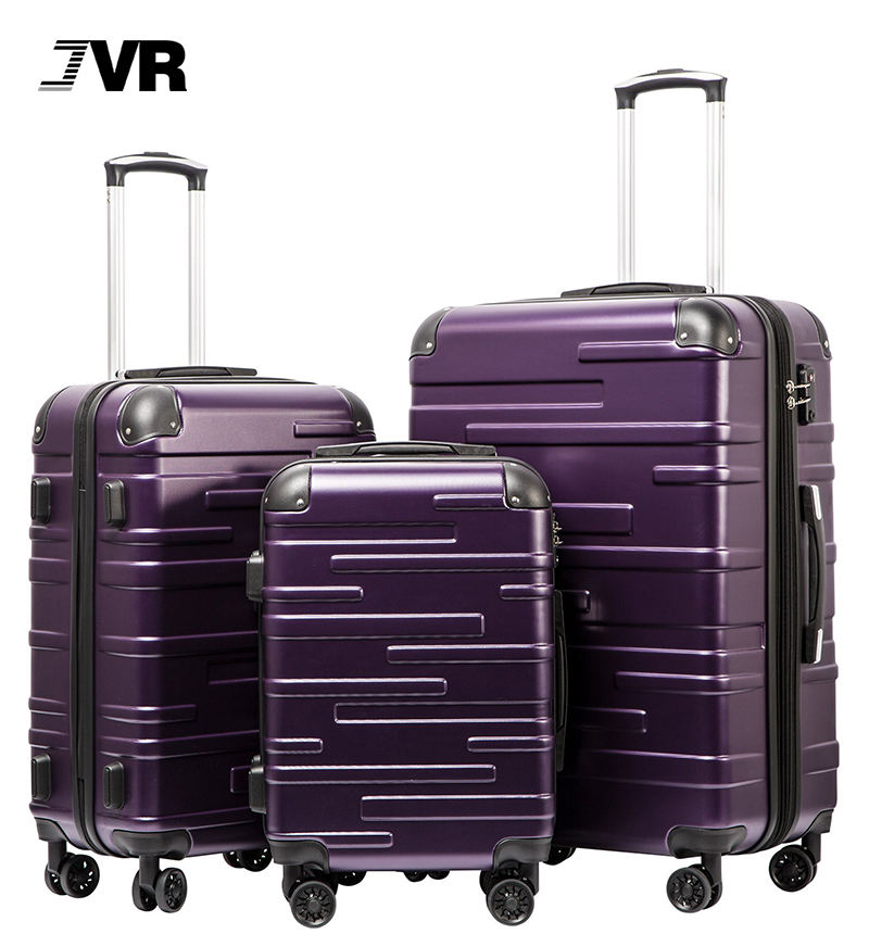 Plastic Pc Abs Rolling Travelmate Suitcase Baggage 28 24 20 Inch Hard Shell Trolley Bag Luggage