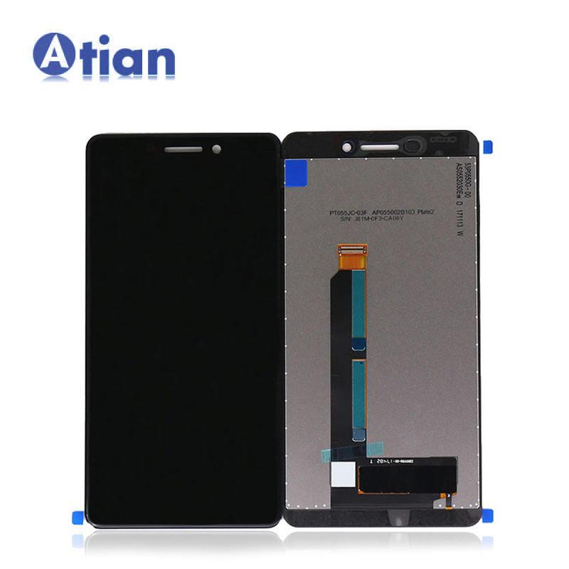 LCD Ekran Nokia 6 2018 için Nokia 6.1 için LCD ekran dokunmatik ekranlı sayısallaştırıcı grup N6 2018 TA-1045 TA-1054 TA -1050